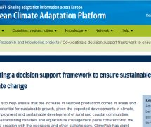 ClimeFish is added to the Climate-ADAPT database.